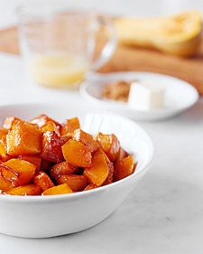 Butternut squash with brown butter sounds pretty good.
