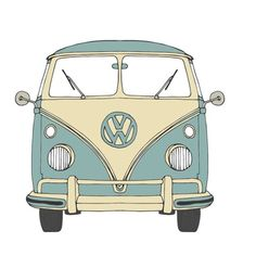 Michelle wink design on oh my to be out in a vintage camper driving along the coast anyone got one of these ! Vw Bus, Vw T1 Camper, Volkswagen, Macbook Stickers, Phone Stickers, Cute Stickers, Mini Vans, Combi Hippie, Fire Tattoo