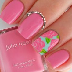 Lilly pulitzer nails