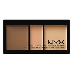 NEW! Cream Highlight & Contour Palette in Medium $15 A new and inexpensive cruelty free contour kit to try from NYX. I haven't tried this product, I have tried their Wonder Stick which is a dual sided highlight and contour crayon which I like, so they are updating now with a true Cream Contour Palette. They also have their Highlight and Contour Pro Palette if you like Powder (I usually prefer powder)