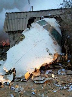 Mueren 37 personas al caer un avión turco sobre viviendas en Kirguistán - http://wp.me/p7GFvM-wab
