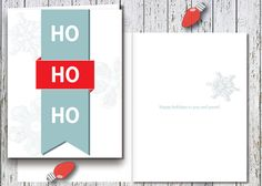 Spread holiday cheer to family and friends with this fun greeting card. To order printed cards, begin by purchasing the design, then include I
