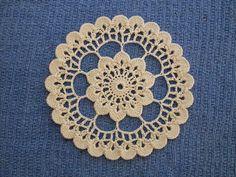 Crocheted Wheel  ~ free pattern via Ravelry