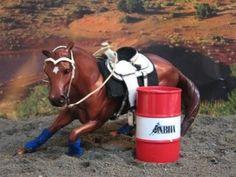 """SE Lil' Bitta Pluck,"" Breyer original Quarterhorse gelding, barrel racing"