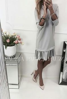 Classy Outfits, Chic Outfits, Beautiful Outfits, Business Outfits, Office Outfits, Hijab Fashion, Fashion Dresses, Altering Clothes, Evening Outfits