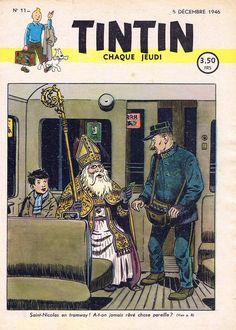 Le Journal de Tintin - Edition Belge - N°  11 - 1946-11 - Jeudi 5 Décembre 1946 - Couverture : Paul Cuvelier
