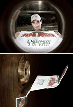 BEST PRANK EVER! But how disappointed would you be once you opened the door and it wasn't there? hahahahaha