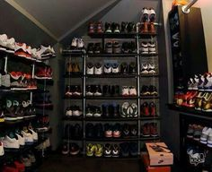 Walk In Closet Just For Shoes