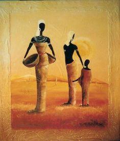 Pintura com o tema: África