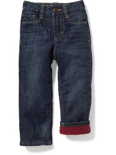 Micro-Fleece-Lined Jeans for Toddler Boys