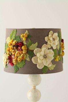 DIY crafts lampshades by robindu