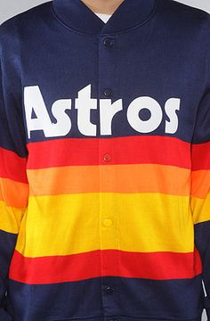 Mitchell & Ness - The Houston Astros Sweater. I want this so bad!