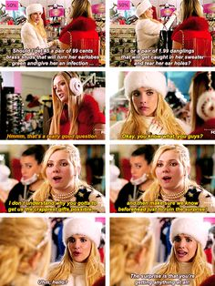 "The Chanels in Scream Queens ""Black Friday"""