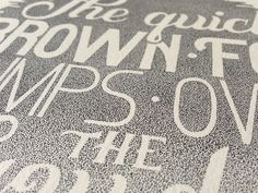 Beautiful Stippled Hand Lettering and Illustrations by Xavier Casalta - Colossal