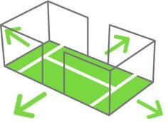 Cómo generar espacios en la pista de pádel - Blog de pádel - Decathlon http://blog.padel.decathlon.es/como-generar-espacios-en-la-pista-de-padel/