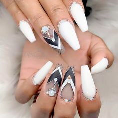 Most popular coffin nail designs to try yourself coffin nails 27 coffin nails design ideas to consider for your next mani solutioingenieria Gallery