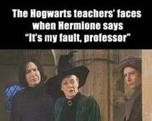 McGonagall looks personally hurt and Snape looks like he's talking to a dumbass that doesn't realize how stupid they are... Lol