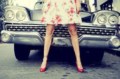 #florals #dress #vintage