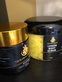 Our Eczema Healing Cream has a unique blend of natural ingredients formulated to provide relief. Our Lemon Body Scrub has a unique blend of essential oils to give you the perfect amount of exfoliation. Beauty Tips And Secrets, Beauty Makeup Tips, Healthy Beauty, Healthy Hair, Healthy Foods, Lemon Body Scrubs, Clear Skin Overnight, Hair Scrub, All Natural Skin Care