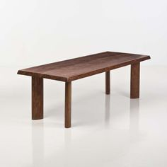 Charlotte Perriand; Rosewood Table for Steph Simon, c1958.