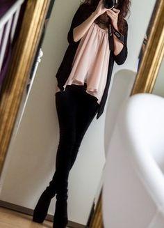 Kup mój przedmiot na #vintedpl http://www.vinted.pl/damska-odziez/rurki/16352100-czarne-rurki-z-wyzszym-stanem-marki-vila