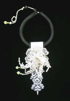 Secret Life of Jewelry - A Universe of Handcrafted Art to Wear: Mixed Media Delights - Gretchen Schields Jewelry