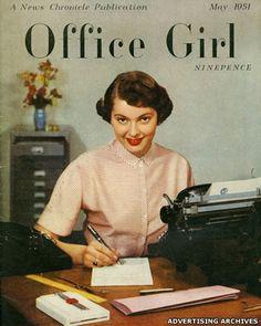 Office Girl Magazine . May,1951