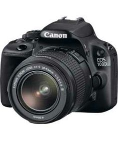 Argos Canon EOS 100D 18MP DSLR Camera with 18-55mm Lens - Black €499.99