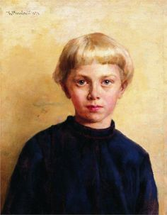Portrait of the Boy, 1874  Konstantin Makovsky...this looks so contemporary