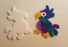 Parrot hama beads by Pia Thomadsen