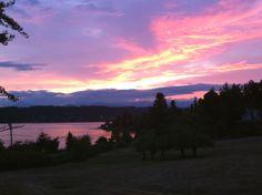 Liberty Bay Sunset Poulsbo Washington
