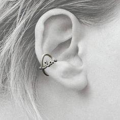 Love Infinity Cuff Earring