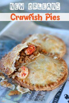 New Orleans Crawfish Pie Recipe SuperGlueMom.com