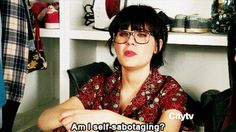 When you quit anything: | The 27 Most Relatable Jessica Day Quotes