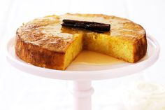 Mandarin and almond cake with cinnamon syrup  This heady, sweet spice lifts your baking up to the extraordinary!