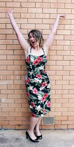 Floral Rigel Bomber Jacket Asaka Kimono DIY Tulle Skirt and Nettie Bellatrix Blazer Coco Jacket Tiki Dress Alix Dress SaveSave Diy Tulle Skirt, Tiki Dress, Sarong Dress, Sewing Courses, Dress Sewing Patterns, Different Patterns, Dressmaking, Diy Fashion, Frocks