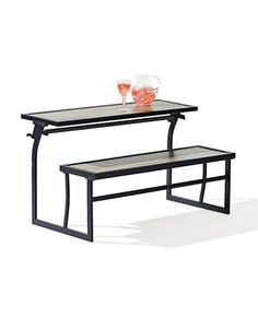 Brands | Outdoor Living | Patio Petite Welson Bench   Picnic Table |  Hudsonu0027s Bay
