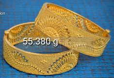 India Jewelry, Gold Jewelry, Fine Jewelry, Gold Bracelets, Gold Earrings, Gold Bangles Design, Jewelry Design, Bangle Set, Necklace Designs