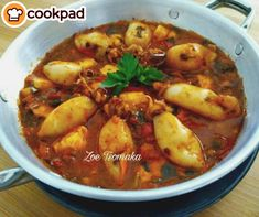 Vegan Sweets, Seafood Recipes, Chicken, Meat, Calamari, Drink, Beverage, Ocean Perch Recipes, Octopus