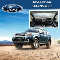 "See the world with new excitement in your new Ford Explorer from Mosselbaai Ford & Mazda. ""Go Further"" on the road or off, it simply goes anywhere. #lifestylevehicles #vehiclesales"