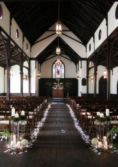 Ceremony: All Saints Chapel, Raleigh, NC