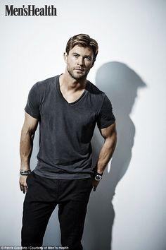 atnys: Chris Hemsworth for Men's Health - Stef's Heaven