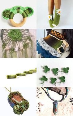 Great Green Gifts by Gabbie on Etsy--Pinned with TreasuryPin.com