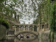"""""""Bridge of Sighs, St John's College, Cambridge"""" by Ken Marshall at PicturesofEngland.com"""
