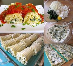 These Scrumptious Spinach Lasagna Rolls are Perfect for Dinner