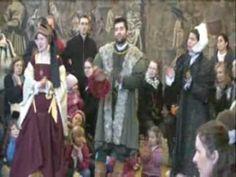 Tudor Christmas at Hampton Court Palace - YouTube