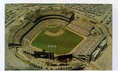 Minnesota Twins (Formerly the Washington Senators) Metropolitan Stadium. 1961-1981.