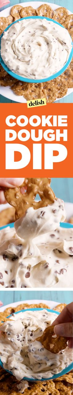 Cookie Dough DipDelish
