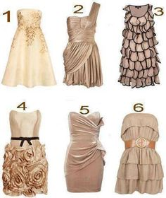 Great Tan dresses, can accessorize with any color. I love neutrals, trying to do more color for summer.