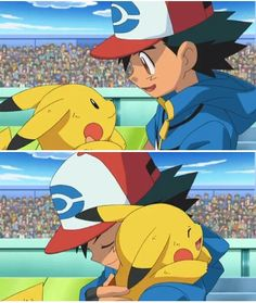 Ash Ketchum and Pikachu ^.^ ♡